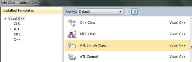Tampilan Dialog Add Class